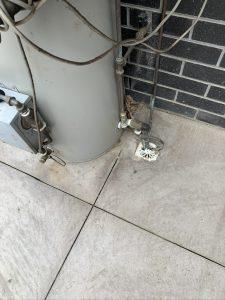Hot water overflow